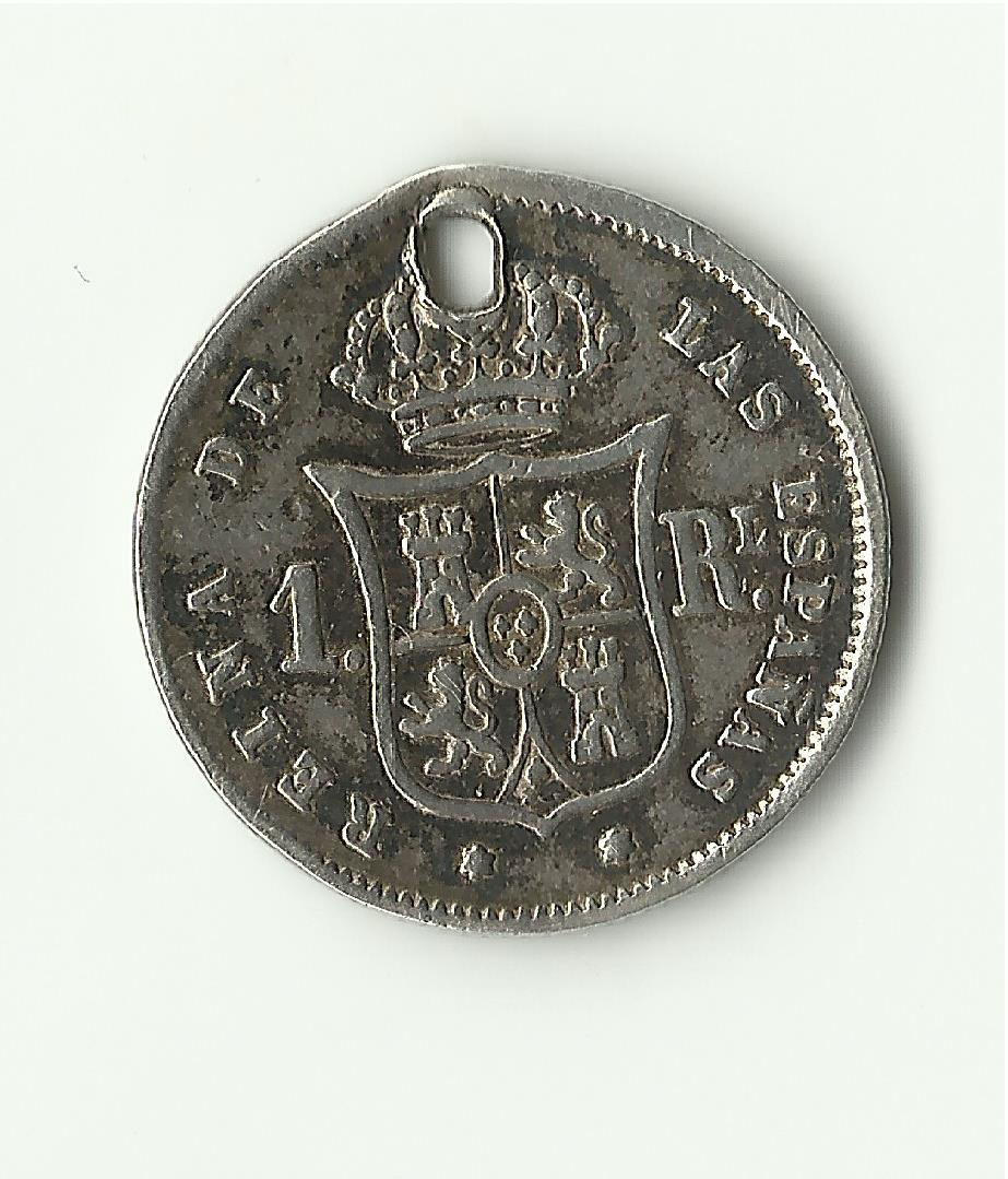 1 real 1860 Isabel II - Madrid 1_real_1860_anv