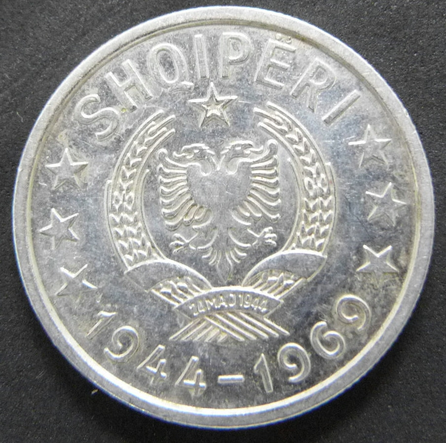 1 Lek. Albania (1969) ALB_1_Lek_anv