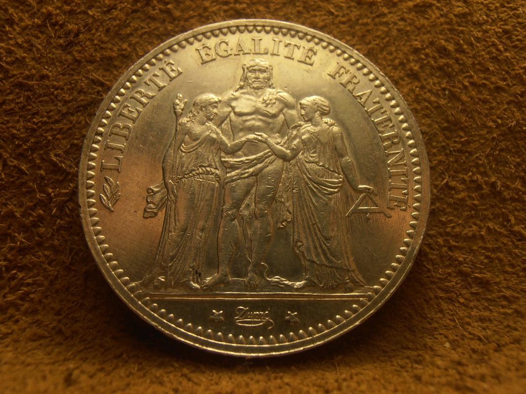5 Francos 1873 A (Hércules) FRANCIA  PA210005