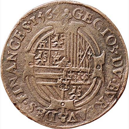 Felipe II Tribunal de cuentas 1564 Dugn. 2398 Dugn_2398