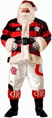 Boas Festas !!! Papai_Noel_Flamengo