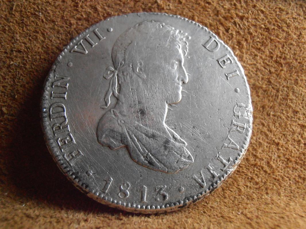 8 Reales 1813. Fernando VII. Potosí. P J P5140003