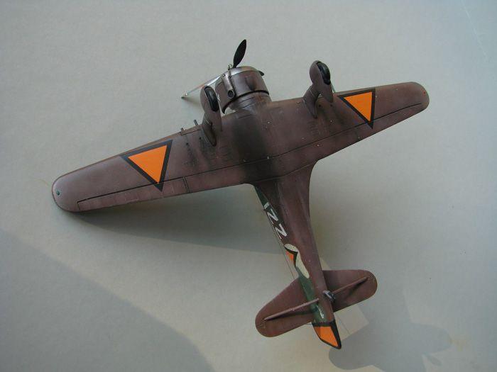 Fokker D.XXI, MPM, 1/72 DSC04183