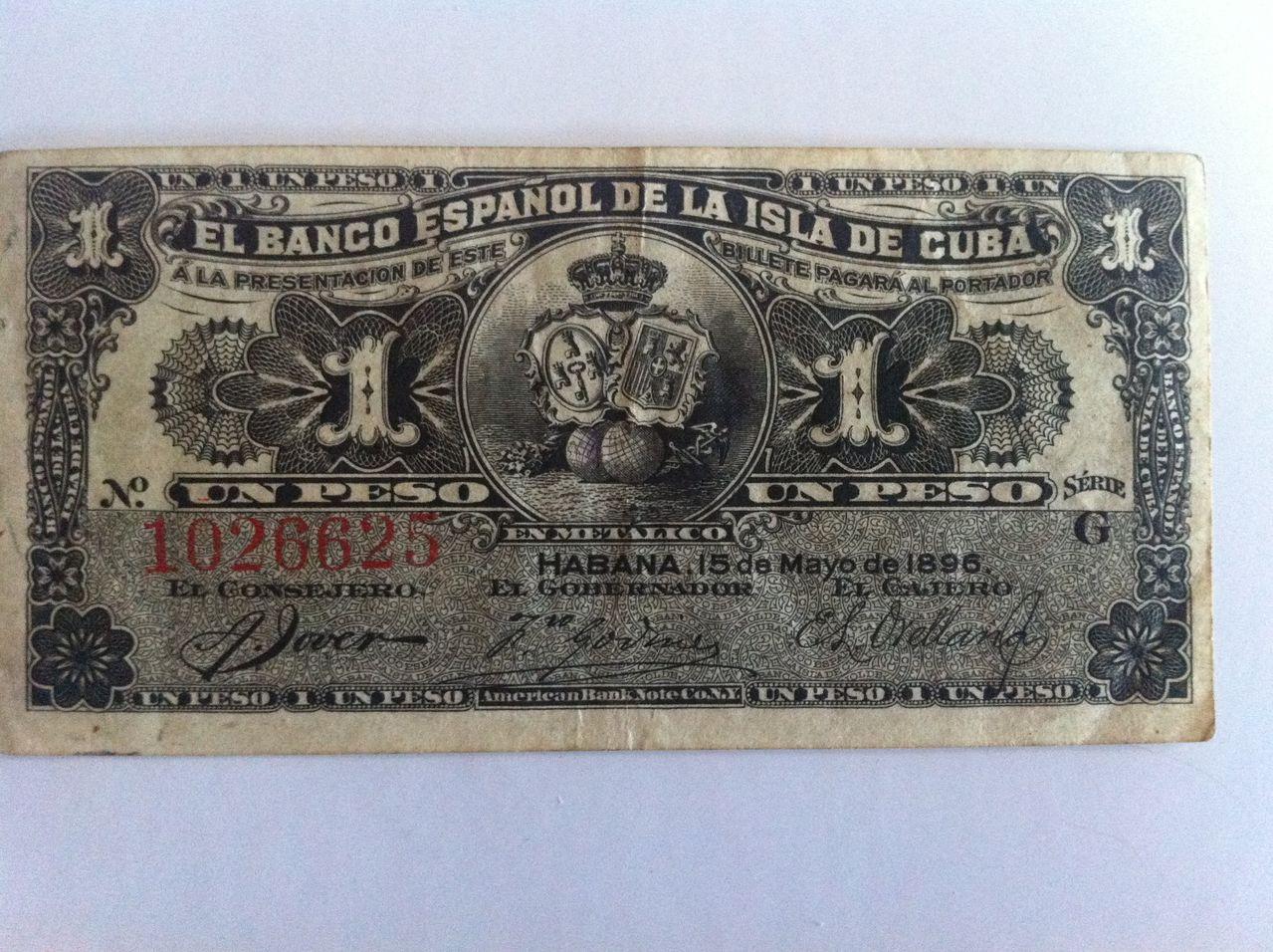 Ayuda valoracion 1 peso español de la Isla de Cuba 1896 IMG_4973