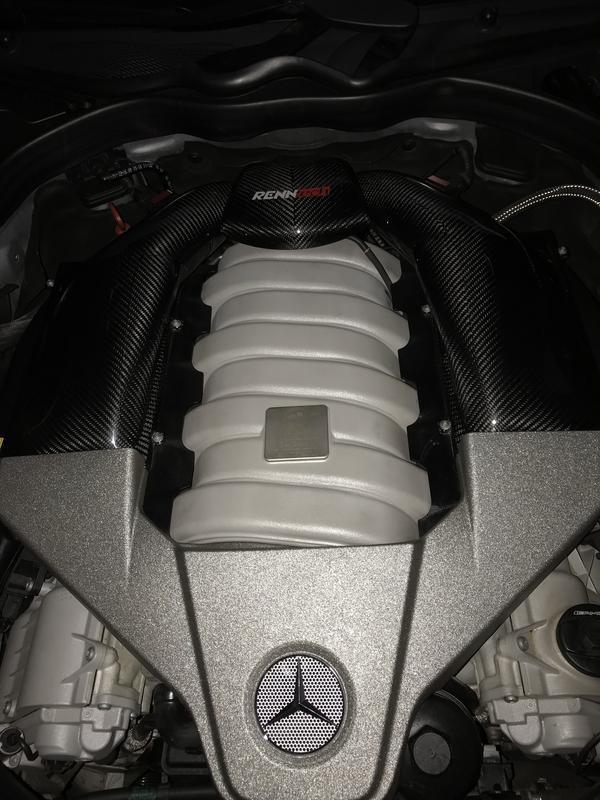 Upgrades E63 AMG - equipamentos Renntech IMG_9133