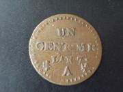 1 Céntimo, año 7, Francia ( y con propina ) DSCN1522