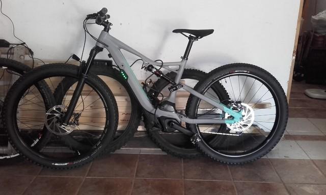 Nueva bici en casa 20170719_132619