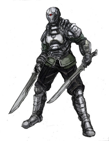 The Kingdom of Xenon Borg_swordsman