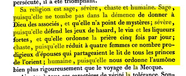 Voltaire et Islam Sahe