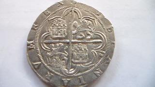 4 reales Felipe II, Sevilla. SAM_1109