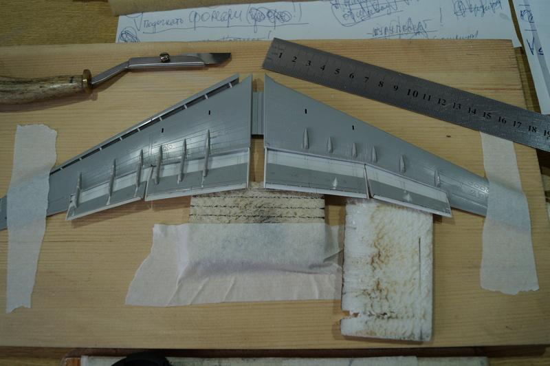 Ил-76 МД   TRUMPETER  М1:144 002_2
