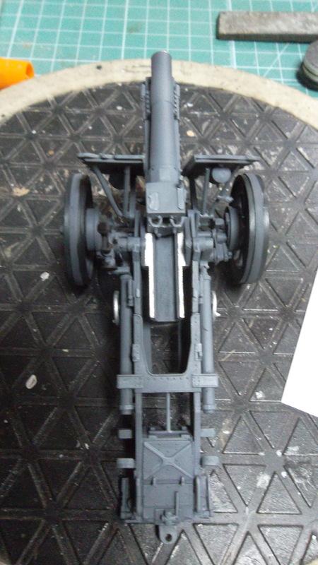 Bison / 15cm siG 33 auf  Pz.Kpfw I, 1/35, (MSD 3508). SAM_1479