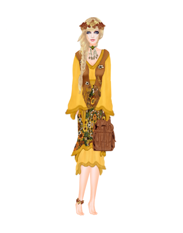 My Entry for the Flower Power Contest Flowerpower_outfit