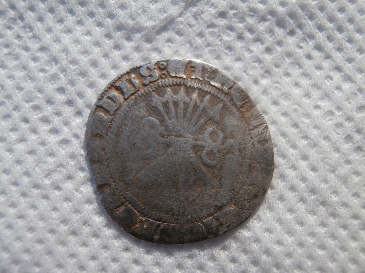 Medio real a nombre de los Reyes Católicos. Burgos P1070134
