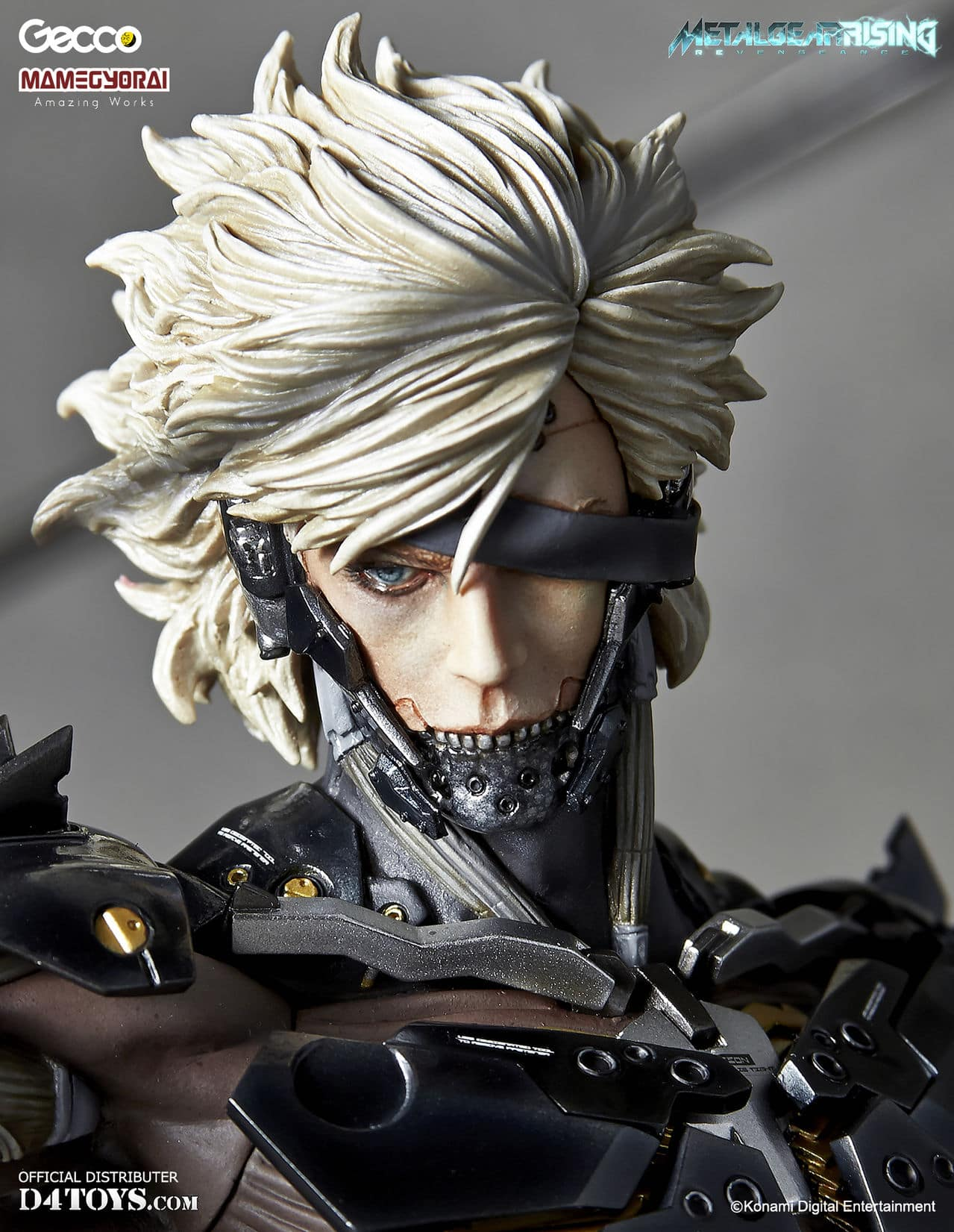 [Gecco,  Mamegyorai] Metal Gear Rising: Revengeance - RAIDEN White Armor 1/6 - SDCC2015 Exclusive - Página 2 D4_011