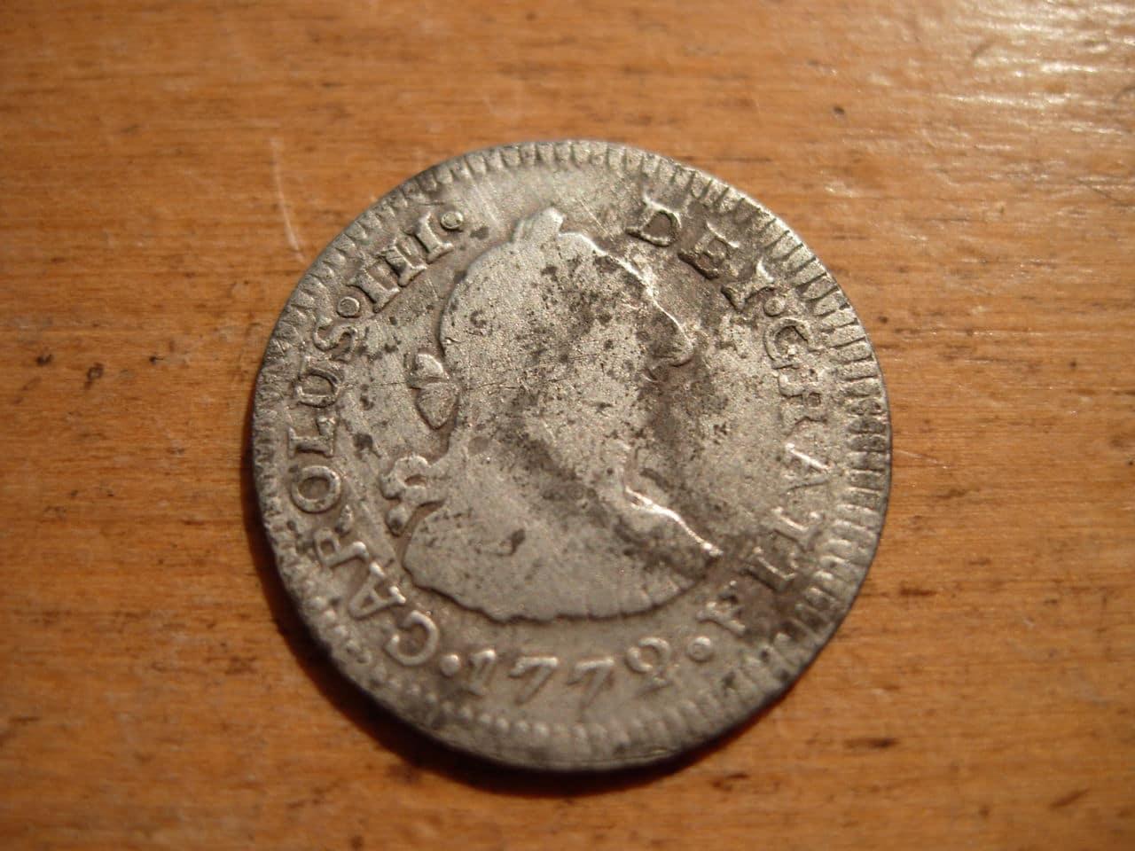 1/2 real de 1772, Carlos III. Ceca de México FF Imagen_012