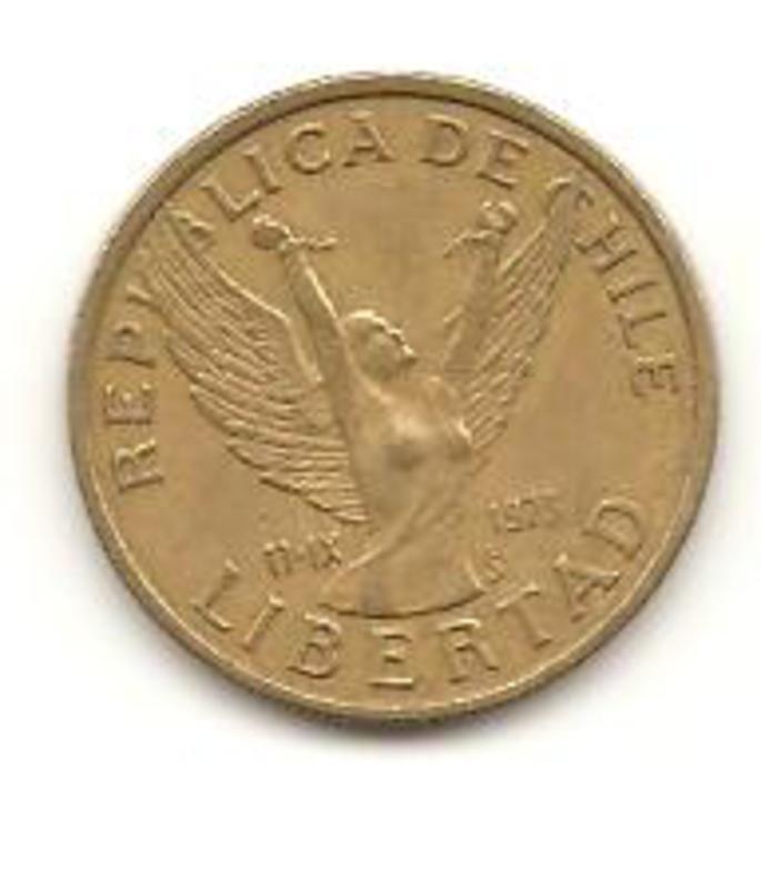 10 Pesos. Chile. 1982   Image