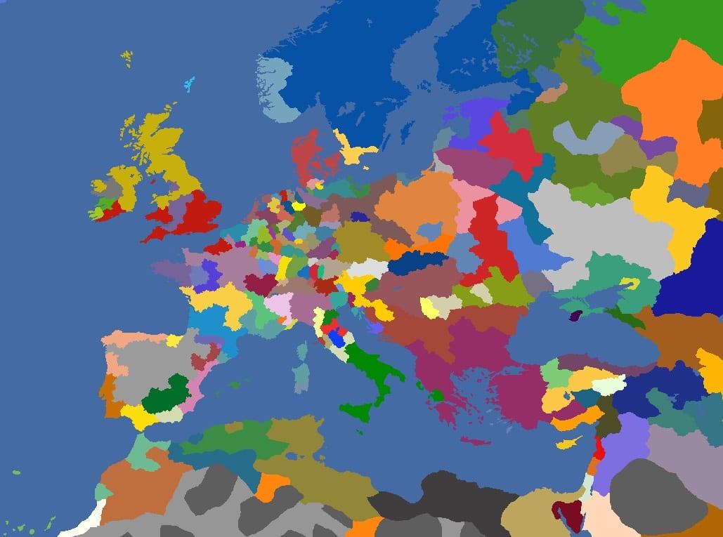 "MP-""Europa Divisa"" 1529"