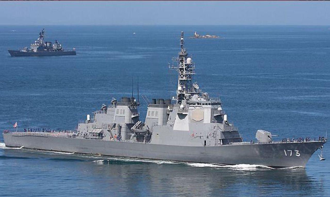 La Fuerza naval Japonesa no debe ser subestimada - Comenta Kazuhiko Inoue, Asesor militar Japones ATAGOCLASSDESTROYERAEGIS2