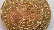 8 Escudos  1809 Santiago  Busto Almirante IMAG1994