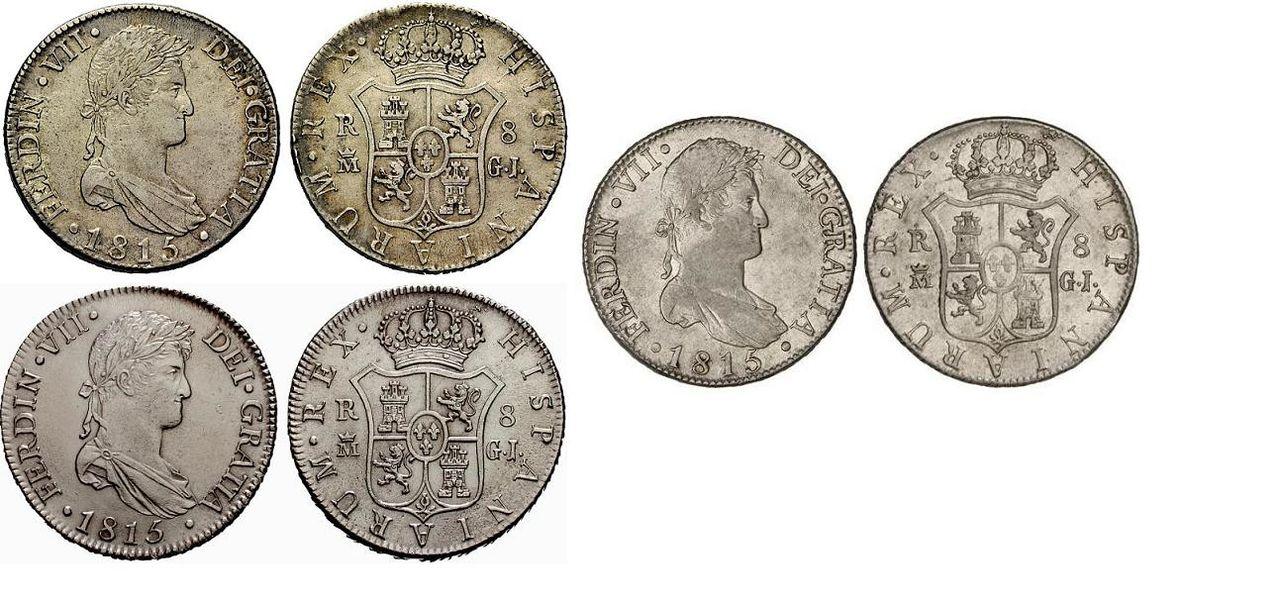 8 reales 1815 Fernando VII, Madrid. 1358296l