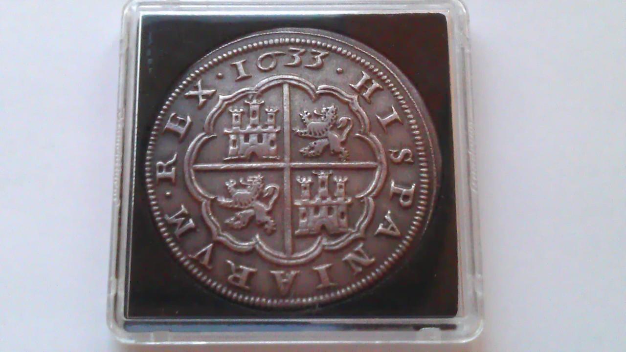 8 reales 1633. Felipe IV. Real Ingenio de Segovia. IMAG1241