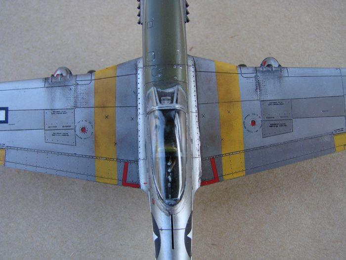 Mustang x2 P-51B Revell & P-51D Tamiya, 1/72 DSC09783