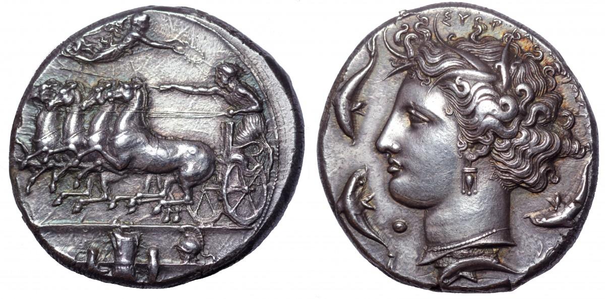 Monedas extraordinarias del periodo Clásico. 1537298