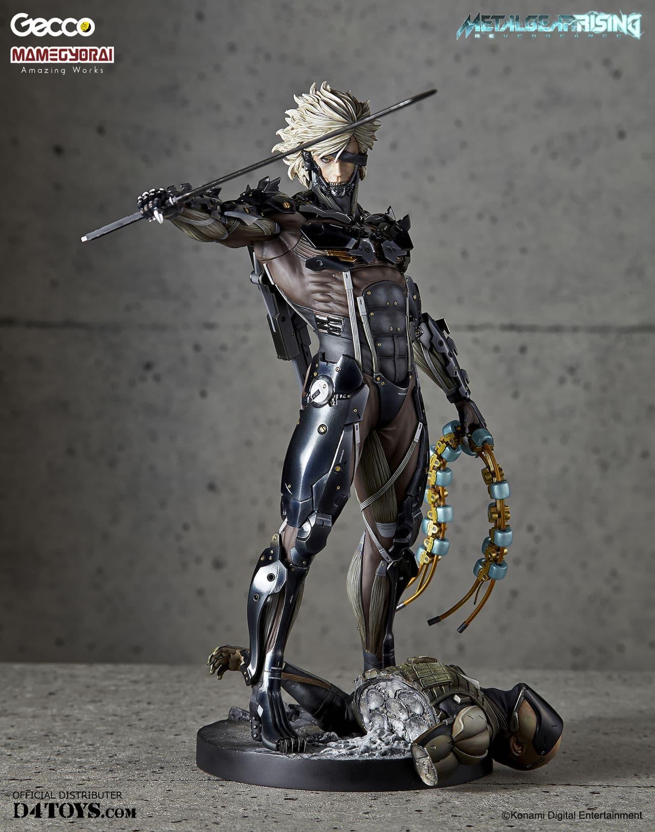 [Gecco,  Mamegyorai] Metal Gear Rising: Revengeance - RAIDEN White Armor 1/6 - SDCC2015 Exclusive - Página 2 D4_005