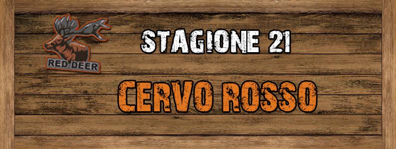 Cervo Rosso - ST. 21 CERVO_ROSSO