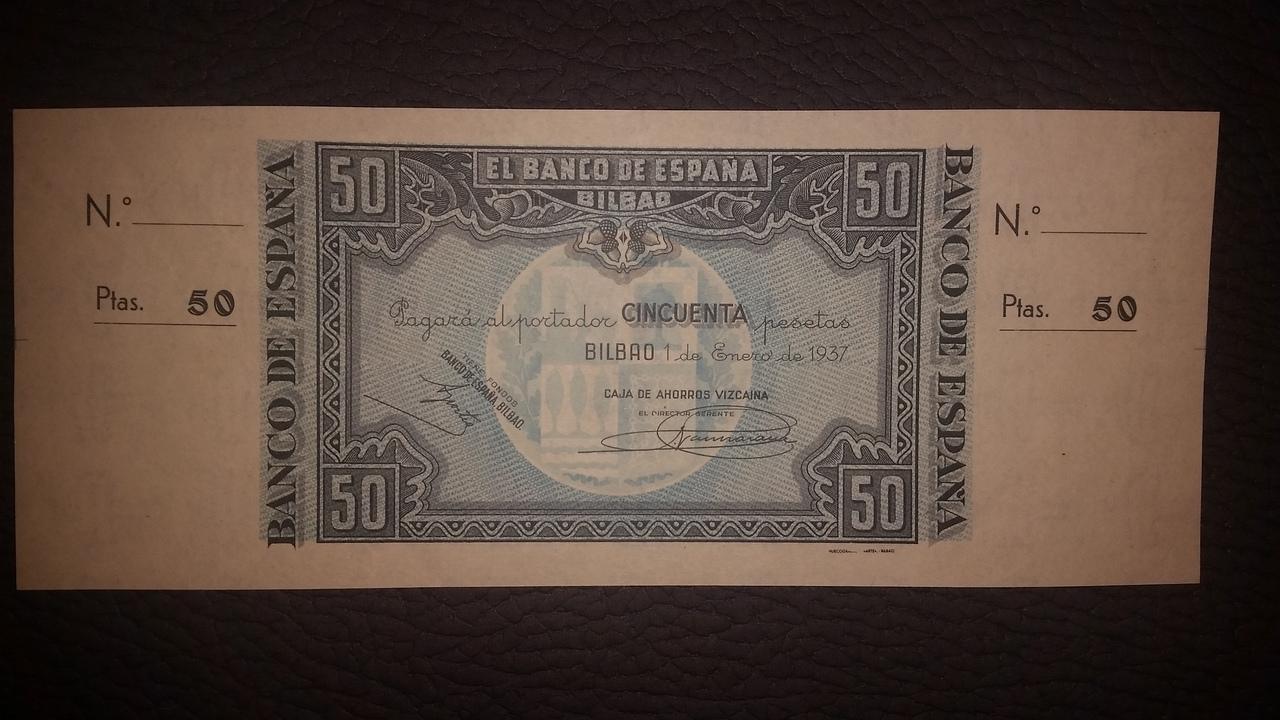 Colección de billetes españoles, sin serie o serie A de Sefcor pendientes de graduar - Página 2 20170217_203725