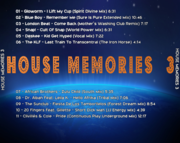 [House] House Memories 3 - CD - 2017 - Flac (Exclusive) Back