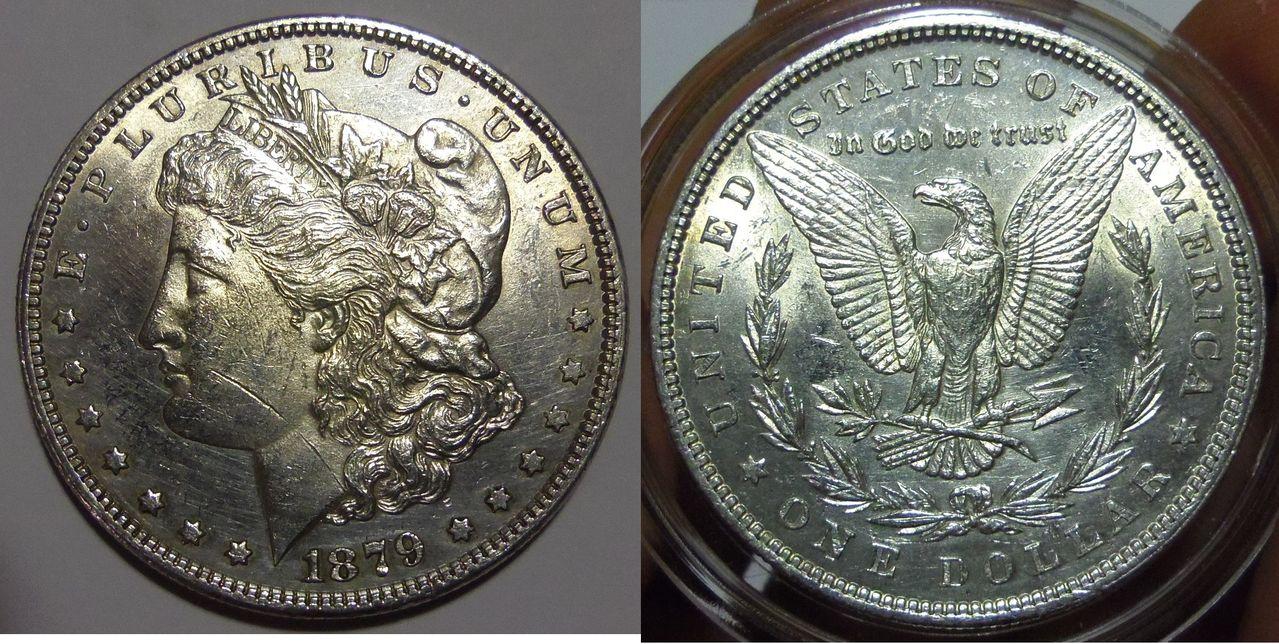 Dólar Morgan. EEUU. 1879. Philadelphia.  IMGP3467