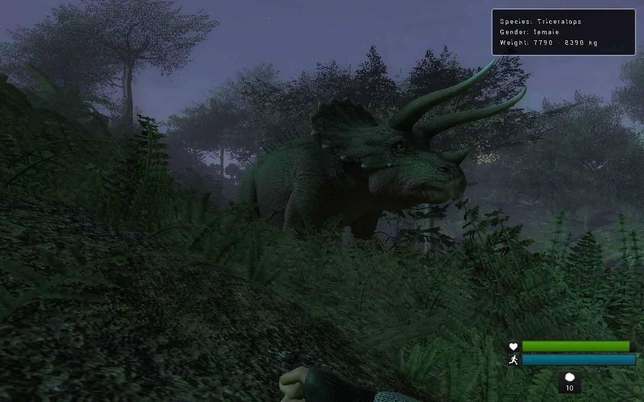Fotografie della FAUNA  Triceratopo