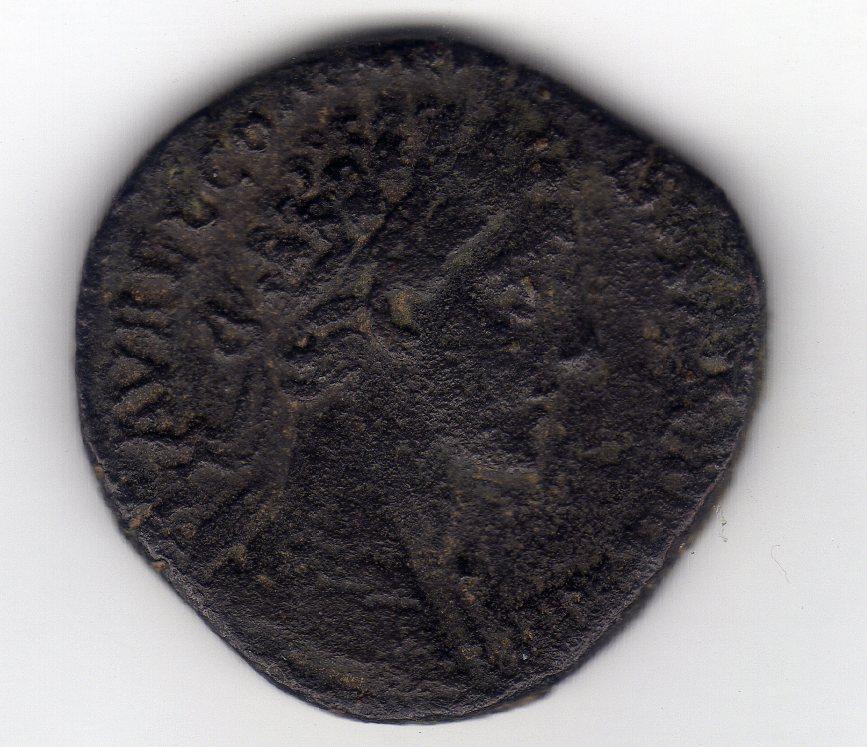 Sestercio de Comodo. Minerva. Roma. Img518