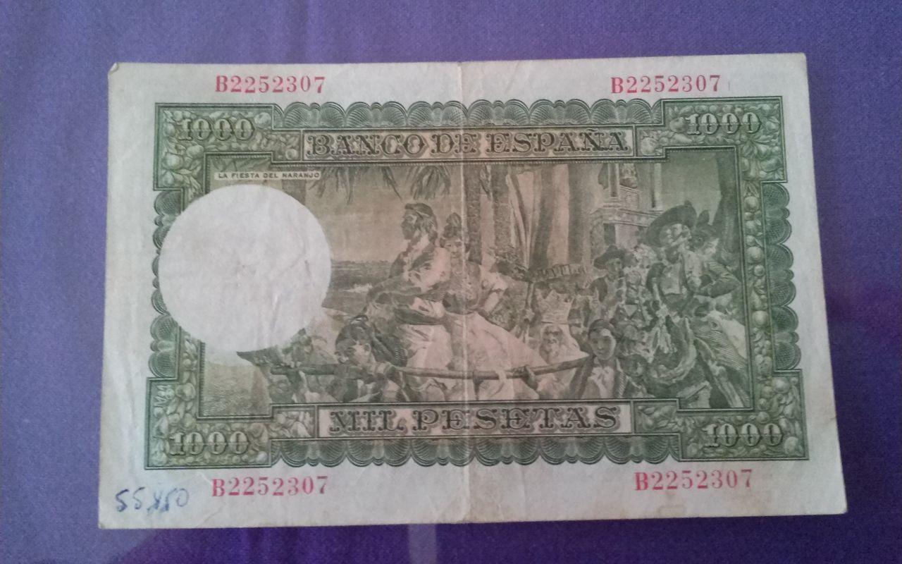 1000 pesetas de 1951 1411057685529