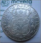 8 reales de 1765, Columnario. Carlos III, México 11881