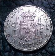 2 pesetas 1882 MSM,Alfonso XII CAM00822_1