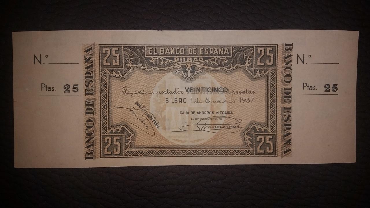 Colección de billetes españoles, sin serie o serie A de Sefcor pendientes de graduar - Página 2 20170217_204346
