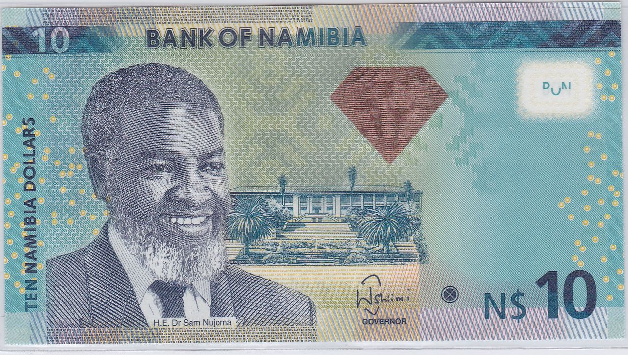 10 Dólares Namibia, 2012 Namibia_2_d_lares_2012_A