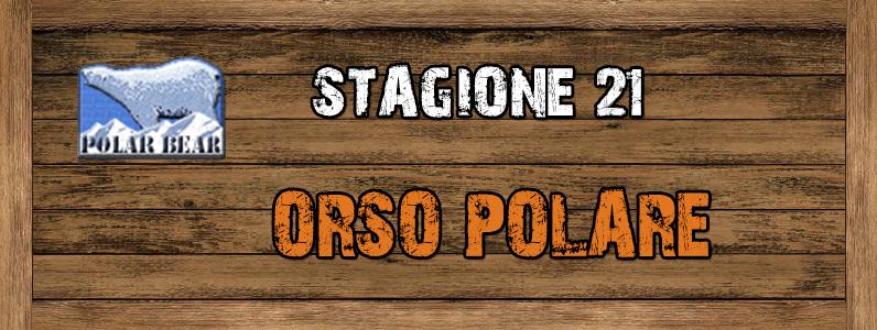 Orso Polare - ST. 21 ORSO_POLARE