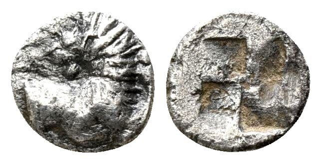 Tracia, Chersonesos . Hemiobolo (raro). 500 a.C. Dedicado al Maestro Monedas62  S_l1600
