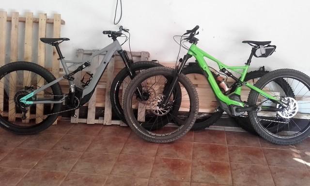 Nueva bici en casa 20170725_100854