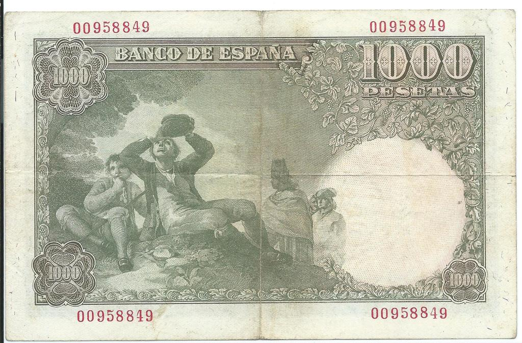 1000 Pesetas de 1949 Image
