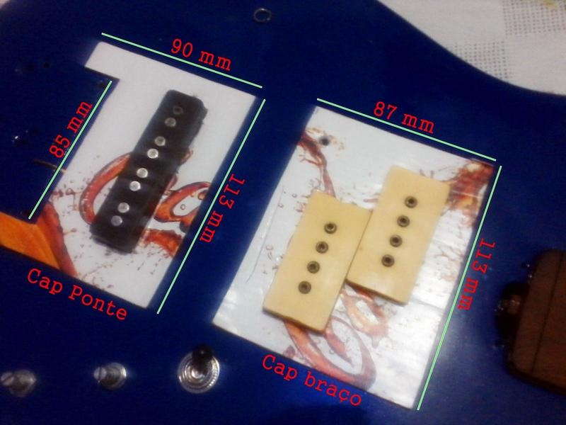 Mini escudos para captadores Image