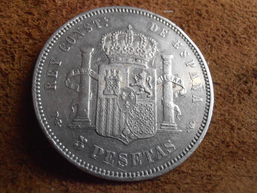 5 Pesetas 1894. Alfonso XIII P2250009