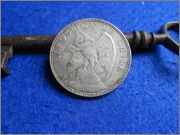 1 peso Chileno 1905 1_peso_Chile_1905_anver