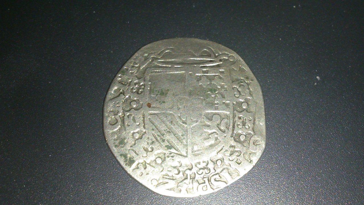 1/20 de escudo de Felipe II. Arras. DSC_0107