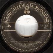 Gordana Runjajic - Diskografija 1962_zb
