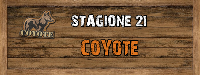 Coyote - ST. 21 Coyote